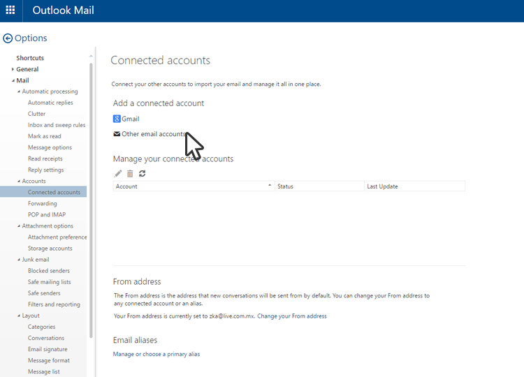 live  com account microsoft outlook