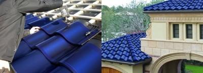 Techos con tejas solares