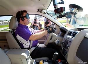 Virginia Tech blind driver