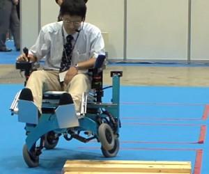 Silla de ruedas robótica Chiba Tech