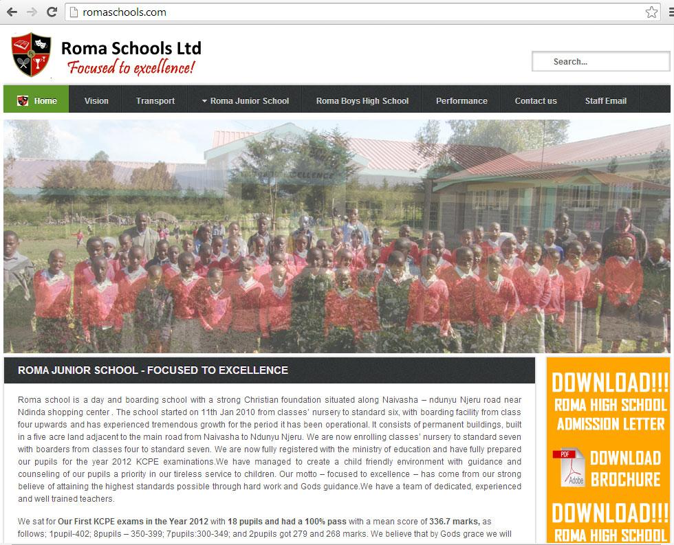 Roma Schools Ltd