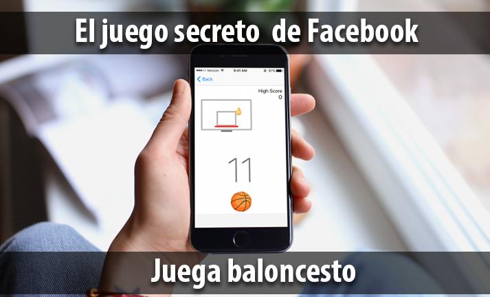 El juego secreto de facebook: Baloncesto